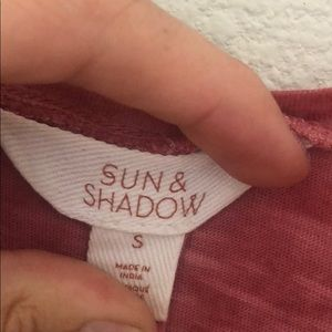 Sun & Shadow Tops - Women's Sun & Shadow tank
